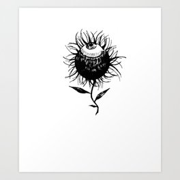 Flower of Evil Art Print