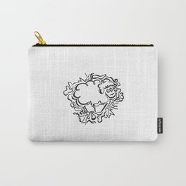 Sheep Lineart Carry-All Pouch