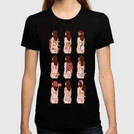 Girl & Pizza T-shirt