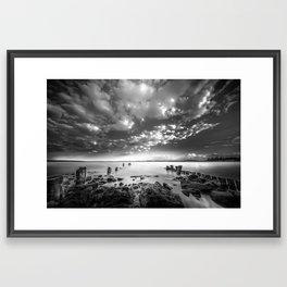 Docklands Framed Art Print