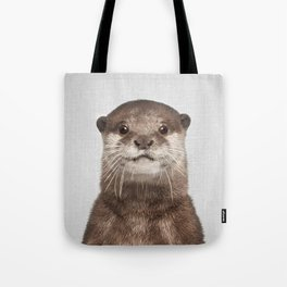 Otter - Colorful Tote Bag