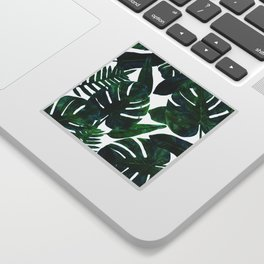 Perceptive Dream || #society6 #tropical #buyart Sticker