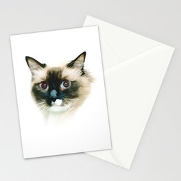 Ragdoll Cat Stationery Cards