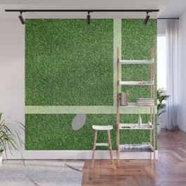 """""""IN"""" – Hawk-Eye - Green Wall Mural"""