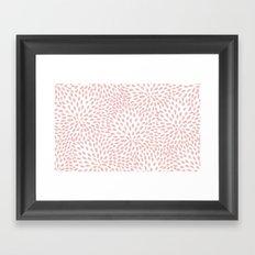 Flower Petals Framed Art Print