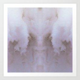 Clouds of Rose Color Art Print