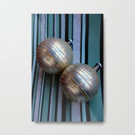 Worth Their Weight In A Gold Stripey Way Metal Print