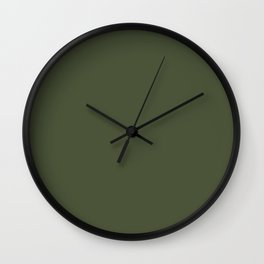 Chive - Pantone Fashion Color Trend Spring/Summer 2020 NYFW Wall Clock