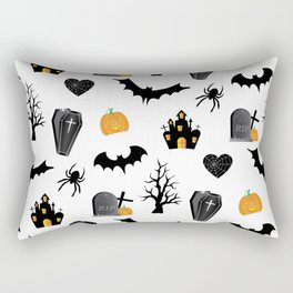Halloween Pattern Rectangular Pillow