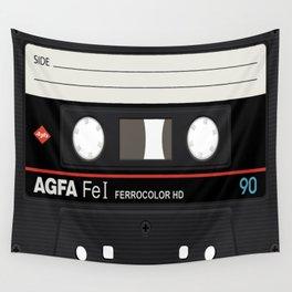 Cassette Inside Wall Tapestry