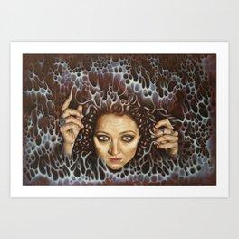 Enter the Void Art Print