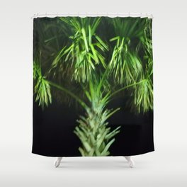 Trippy Palms Shower Curtain