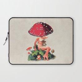Shroom Girl Laptop Sleeve