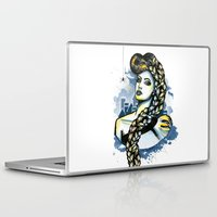 rapunzel Laptop & iPad Skins featuring Rapunzel by Lindella
