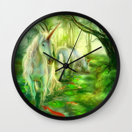Through the looking-glass of dreams Wall Clock