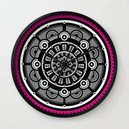 Modern Mandala (Pink) Wall Clock