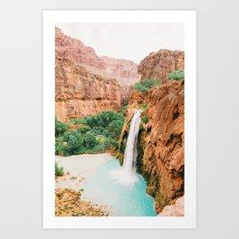 Havasu Falls / Grand Canyon, Arizona Art Print