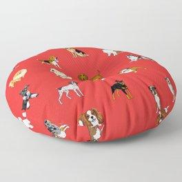 Dog breeds! Floor Pillow