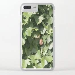Ivy and Snail Clear iPhone Case