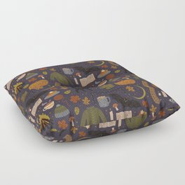 Autumn Nights Floor Pillow