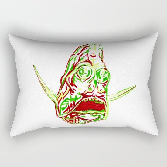 Deep Sea Hatchetfish Rectangular Pillow