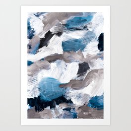 abstract painting VI Art Print