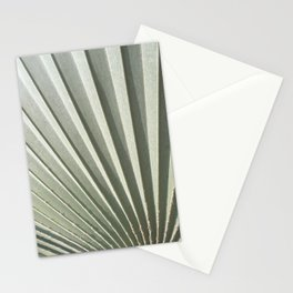 Palma Gris Azul Stationery Cards