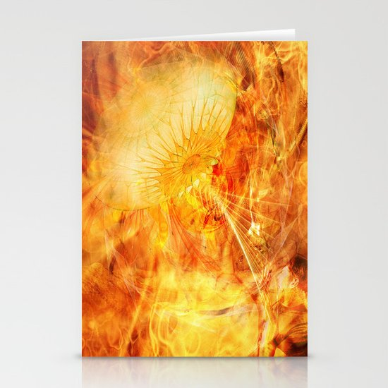 War of the Worlds Stationery Cards