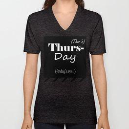 Thursday Unisex V-Neck