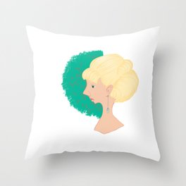 A great lady Throw Pillow