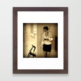 Made in the shade Framed Art Print