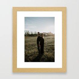 Tied in Love I Framed Art Print