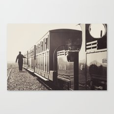 Evesham Railway Canvas Print