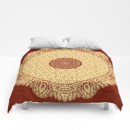 Mandala 8 Comforters