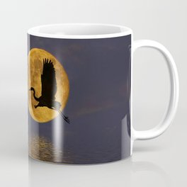 Heron & The Harvest Moon Coffee Mug