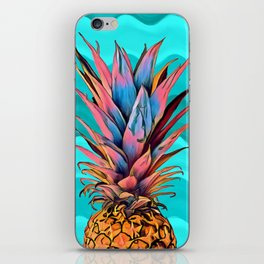 Colorful Pineapple iPhone Skin