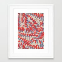 iggy Framed Art Prints featuring Iggy Palms by Gukuuki Studio
