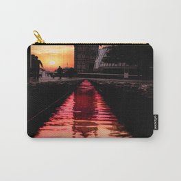Water pink Carry-All Pouch