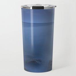 """""""Blue sea"""". Blue hour. Travel Mug"""