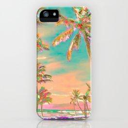 Hawaii Beach, Mauna Lani Bay iPhone Case