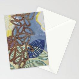 Mid Air Fragmentation Stationery Cards
