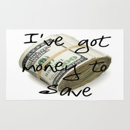 Money to Save (Law of Attraction Affirmation) Rug