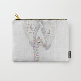 Girffe family Carry-All Pouch