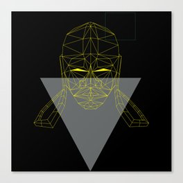 polygon head Canvas Print