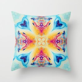 Moroccan Two Throw Pillow