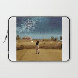 Broken Glass Sky Laptop Sleeve