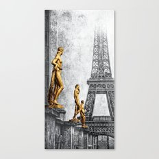 femmes parisiennes II Canvas Print