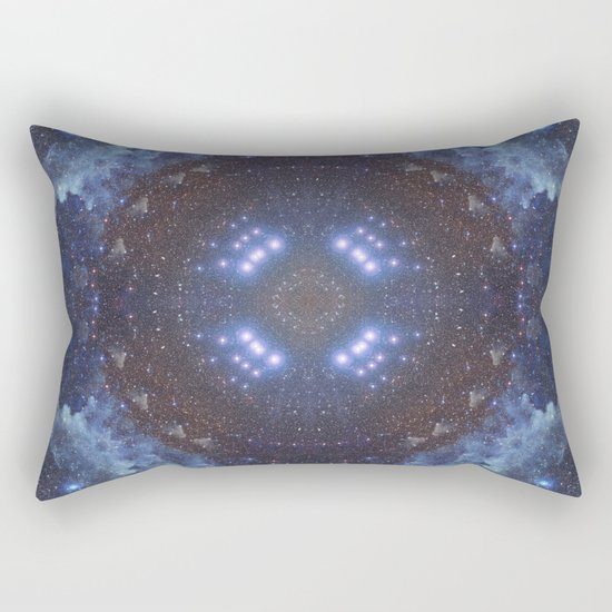 Eye of the Galaxy Rectangular Pillow