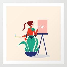 Mood 3 Art Print