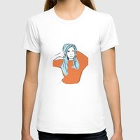 sweater T-shirts featuring Sweater Weather by Kelly Lindstrom